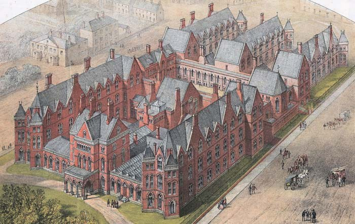 Leeds General Infirmary 1869